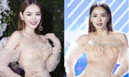 Chiếc váy cũn cỡn phản chủ khiến Minh Hằng bị nghi lộ nội y trong lúc biểu diễn