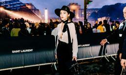 Kỳ Duyên buông lơi vòng một, nổi bần bật khi dự show thời trang tại Paris