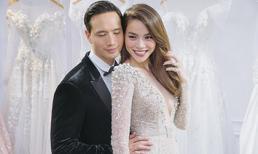 Hà Hồ 'tình bể bình' trong bộ ảnh cưới cùng Kim Lý, nhưng vòng một của cô mới là tâm điểm