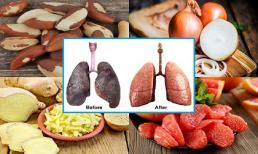 4 loại thực phẩm giúp làm sạch phổi cho người hút thuốc lá