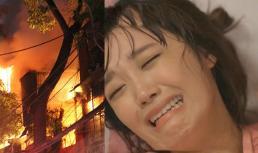 Cả nhà bốc cháy, vợ gọi chồng kêu cứu thì anh bỏ mặc để lao vào phòng thờ làm một việc không ai ngờ tới