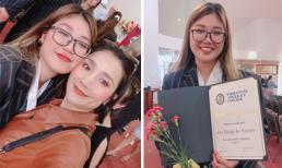 MC Cát Tường dự lễ tốt nghiệp của con gái ở Úc, loạt sao Việt thi nhau vào chúc mừng