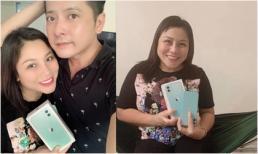 Diễn viên Hoàng Anh chơi sang khi mua cả cặp Iphone 11 tặng bà xã và bản thân