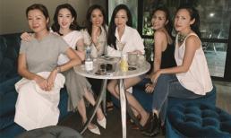 'Rửa mắt' với bức hình hai đại mỹ nhân Hà Tăng - Đặng Thu Thảo khoe sắc 'một chín một mười'