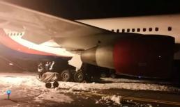 Máy bay đi từ Việt Nam cháy càng khi hạ cánh ở Nga, hàng chục người bị thương