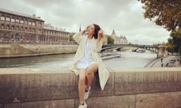 Người mẫu Hồng Quế 'trốn con' đi du lịch Châu Âu