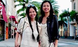 Hồng Nhung khoe ảnh du lịch tại Mỹ, vô tình để lộ nhan sắc hiện tại của 'Hoa hậu giàu nhất Việt Nam' - Ngô Mỹ Uyên