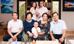 Ngọc Thạch đăng ảnh gia đình, khoe khoảnh khắc hiếm 2 bên thông gia chung khung hình