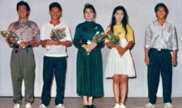 Việt Trinh đăng ảnh hiếm bên cạnh Lý Hùng gần 30 năm về trước