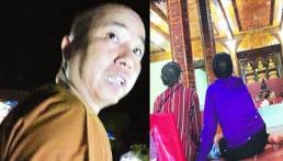 Sư thầy 'gạ tình' nữ phóng viên chính thức bị đình chỉ chức trụ trì
