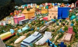 Nghĩa trang đầy màu sắc ở Guatemala