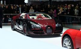 Bugatti Veyron đầu tiên và cuối cùng xuất hiện tại Geneva