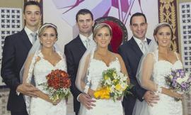 Chị em 'sinh 3' kết hôn cùng ngày khiến các chú rể hoang mang vì sợ nhầm lẫn