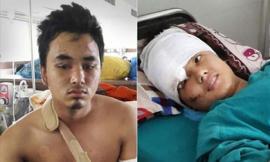 Động đất Nepal: Cặp tình nhân rơi từ tháp 60m thoát chết kỳ diệu