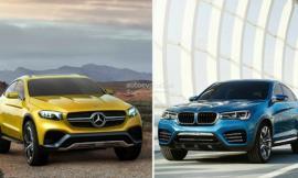 Mercedes GLC Coupe và BMW X4: Cuộc đối đầu tiếp diễn