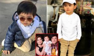 Sống trong biệt thự triệu đô, bố mẹ giàu có, nổi tiếng, gu thời trang của con trai Đan Trường có gì đặc biệt?