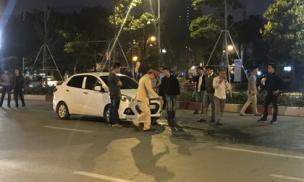 Danh tính tài xế ô tô lấy hung khí đâm trọng thương người đi xe máy sau va chạm giao thông