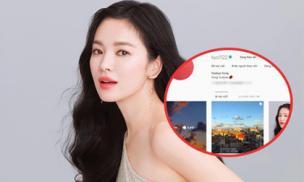 Giữa tâm bão ly hôn Song Joong Ki, Song Hye Kyo bất ngờ đi 'rắc thính' khắp nơi khiến fan chao đảo