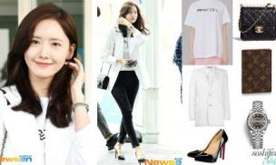 Đơn giản, thanh lịch là vậy nhưng set đồ của Yoona mặc sang Đài Loan có giá tới hàng trăm triệu đồng