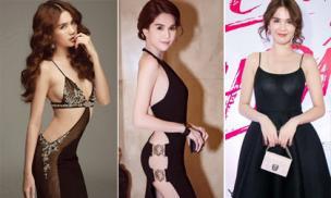 Trước thảm đỏ LHP Cannes, Ngọc Trinh đã từng có những lần ăn mặc phản cảm khó ai bì