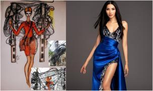 Hài hước với ý tưởng trang phục dân tộc dự thi Miss Universe của Hoàng Thùy lấy cảm hứng từ anh thợ điện