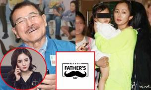 Sợ con gái quay ra ghét mẹ, Dương Mịch đã bất ngờ có hành động này với bố chồng cũ nhân ngày của cha