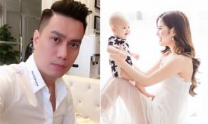 Bà xã Việt Anh xác nhận ly hôn, chính thức công khai làm mẹ đơn thân