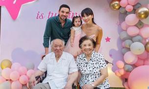 Sau tiệc sinh nhật hoành tráng mừng con gái 1 tuổi ở Đà Nẵng, siêu mẫu Hà Anh tiếp tục tổ chức tại Hà Nội