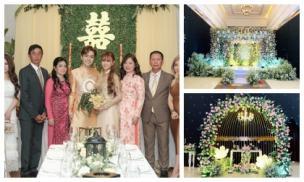 Trực tiếp đám cưới Thu Thuỷ: Không gian tiệc cưới lung linh như cổ tích