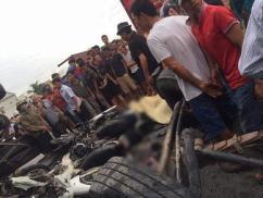 Xe tải đè chết 5 người ở Hải Dương: Tài xế khai 'đạp phanh không ăn'