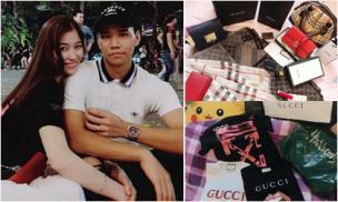 Tủ đồ hiệu 'khủng' của bạn gái cầu thủ CLB Hà Nội - cô gái gây xôn xao vì xúc phạm Vũ Văn Thanh