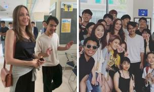 Mẹ con Angelina Jolie gây náo loạn trường Đại học hàng đầu tại Hàn Quốc