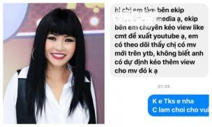 Bị mời mua 'like' và 'view' trên youtube khi ra sản phẩm mới, đây là phản ứng của Phương Thanh