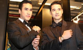 Hai 'Hoàng tử Thái Lan' khiến cả sự kiện trầm trồ vì vẻ điển trai
