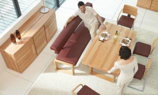 Bàn ăn mở rộng - món nội thất kì diệu cho mọi không gian