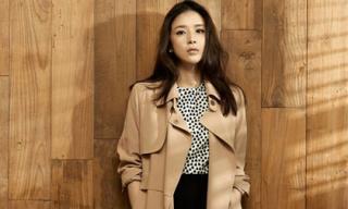 Lee Bo Young sang trọng và nữ tính trong trang phục thu - đông