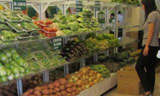 Thực phẩm sạch giá cao vẫn hút khách Sài Gòn