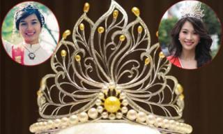 Chuyện hiếm ai biết về vương miện Hoa hậu Việt Nam
