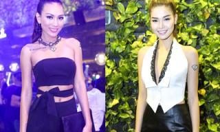 Diệu Huyền - Kỳ Hân xinh đẹp ghi hình cho FTV châu Á