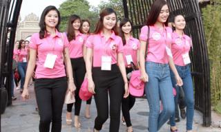 Một thí sinh 'Hoa hậu Việt Nam 2014' bị loại vì độn sống mũi