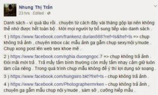 Rúng động mẫu trẻ Việt tố nhiếp ảnh gia sàm sỡ