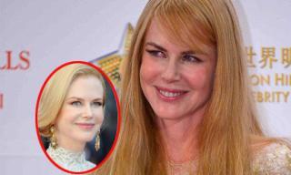 'Thiên nga Úc' Nicole Kidman lộ nhan sắc ngày càng tàn tạ