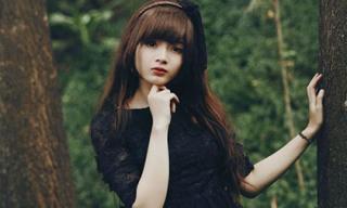 Hot girl ảnh thẻ Sài Gòn đón Halloween với bộ ảnh ngoan hiền