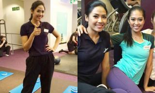 HHTG 2014: Nguyễn Thị Loan dễ dàng vượt qua phần thi thể thao
