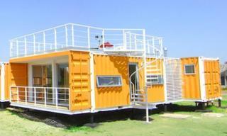 Những ngôi nhà container có giá... 44 triệu đồng