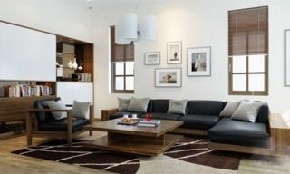 Tư vấn cải tạo căn hộ rộng 80m² cho đôi vợ chồng trẻ