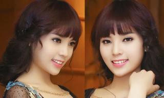 Hoa hậu Kỳ Duyên đẹp ngỡ ngàng với tóc mái bằng