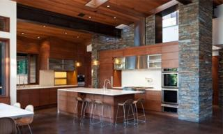 Trang trí bếp đẹp theo phong cách hiện đại