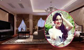 Trang Lucy 'khoe dáng' trong căn hộ triệu đô