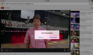 Ứng dụng tải video YouTube miễn phí trên iPhone, iPad